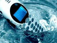 Telefon i vand - Phone in Water