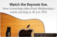 Apple Keynote Video d. 1. september 2010