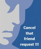 Facebook - Cancel that Friend Request