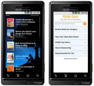 Kindle on Motorola