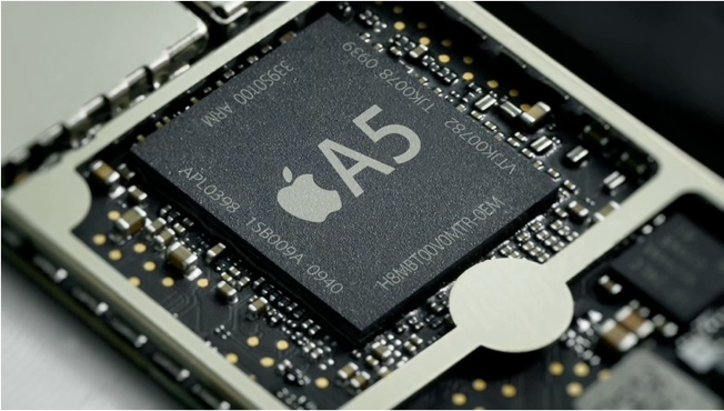 Apple A5 chip i iPhone 4S