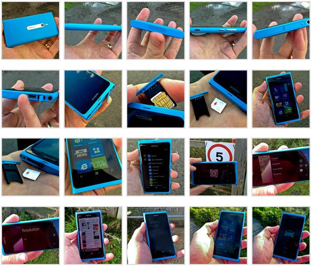 Nokia Lumia 800 simkort