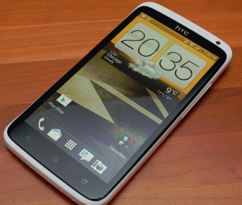 HTC One X - stort display