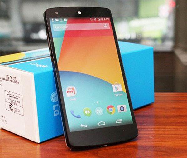Nexus 5 ud af boksen