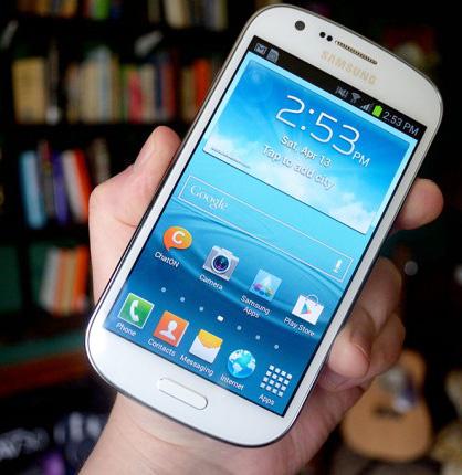 Galaxy Xpress i hånden