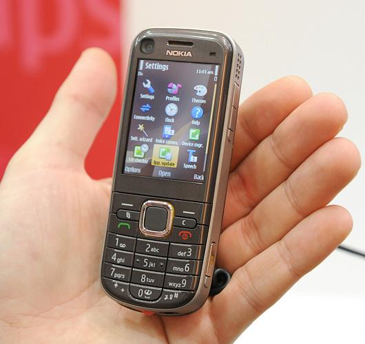 6720 Classic i hånden