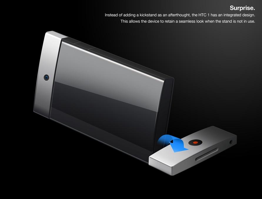 HTC One Kickstand