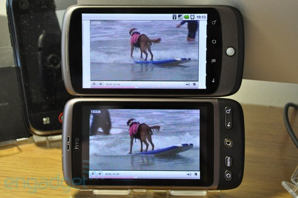 HTC Desire og Nexus One