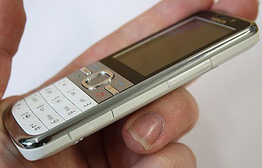Let og lækker Nokia C5 i hånden
