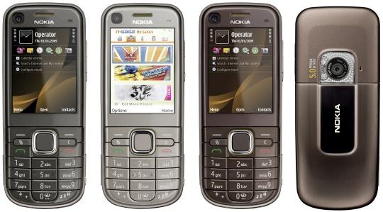 Alle Nokia 6720 samlet
