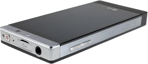 Bagside af LG GD880 Mini