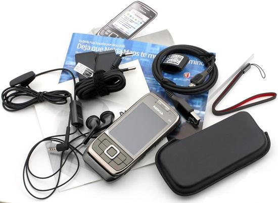 Indhold ved køb af Nokia E66