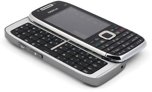 E75 QWERTY tastatur