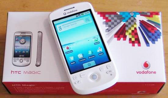 Lækkert design fra HTC Magic