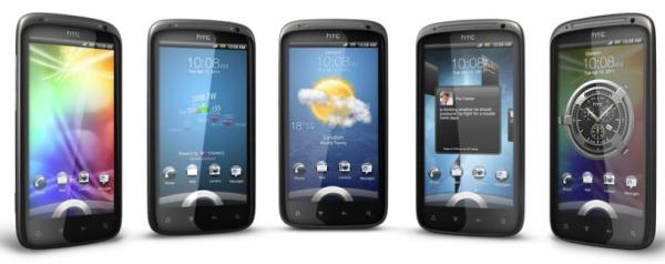 Flot HTC Sensation præsentation