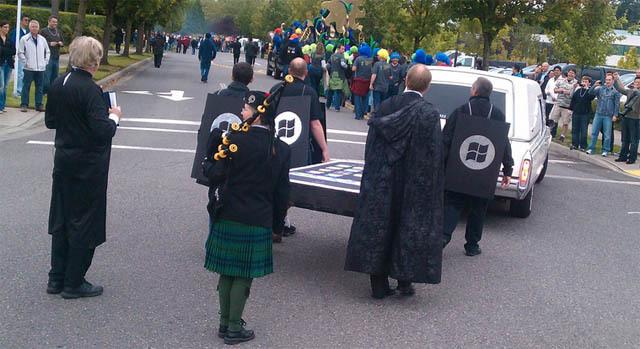 iPhone Begravelse