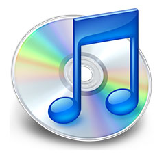 iTunes Logo Blue