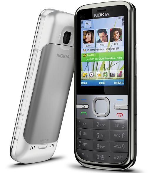 Nokia pressebillede af C5