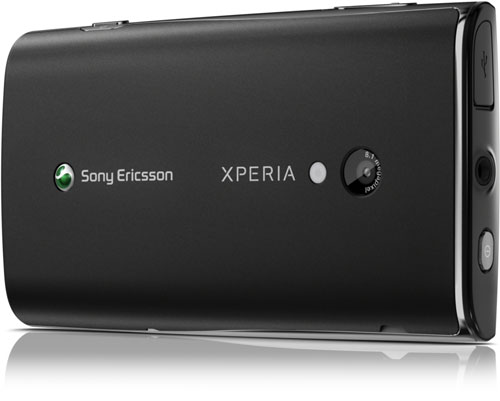 Sony Ericsson X10 Xperia bagfra